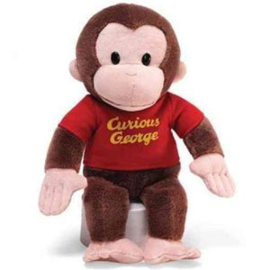 Gund Curious George Stuffed Animal
