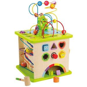 Hape Wooden Activity Play Cube