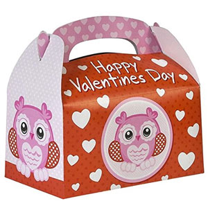Happy Valentine's Day Treat Boxes (Pack of 12)