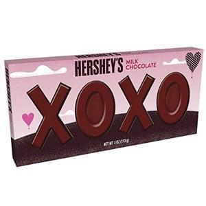 Hershey Valentine Milk Chocolate XOXO Bar