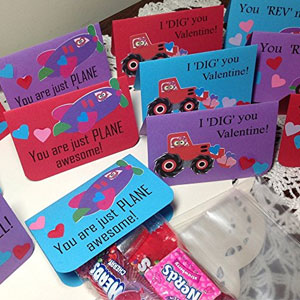 Just Scrap Valentine Vehicle Treat Bags (12 Pack)