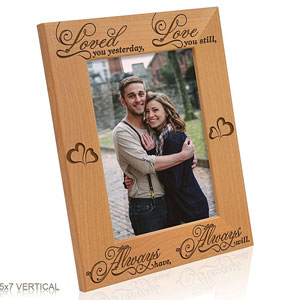 Kate Posh Loved Picture Frame