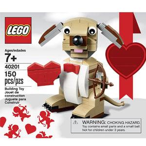 LEGO Bricks & More Valentines Cupid Dog