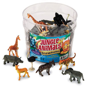 Learning Resources Jungle Animals (60 Pack)