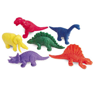 Learning Resources Mini Dinos (100 Pack)