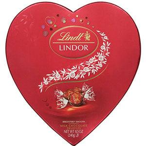 Lindt Lindor Valentine Truffles Gift Box