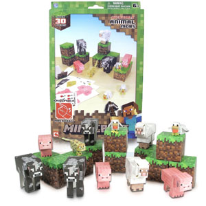 Minecraft Papercraft Animal Mobs Set