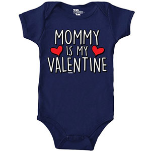 Mommy Is My Valentine Onesie