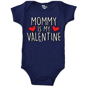 Mommy Is My Valentine Onesie