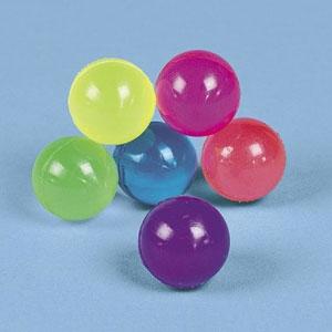 Neon High Bounce Balls (12 Pack)