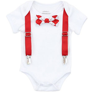 Noah's Boytique Baby Boys Valentine Outfit