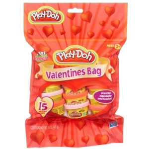 Play-doh Valentines Bag (15 Cans)