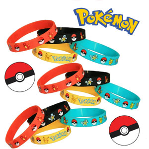 Pokemon Wristbands (12 Pack)
