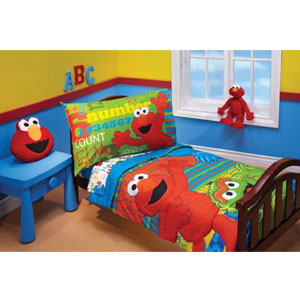Sesame Street 4-Piece Toddler Set