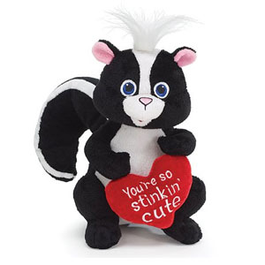 Stinking Cute Skunk Animal Plush