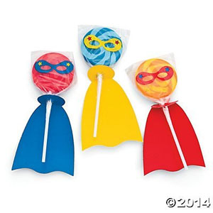 Superhero Swirl Lollipop Set (2-Pack of 12)