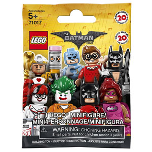 The LEGO Batman Movie Minifigure
