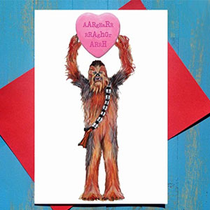 Words Are Overrated Valentine's Day Card