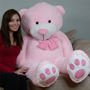 Yesbears 5 Feet Giant Pink Teddy Bear