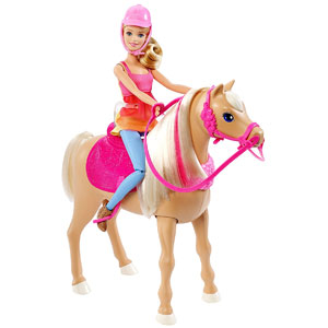 Barbie & Her Sisters Dancin Fun Horse and Doll