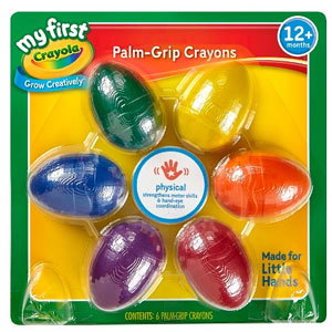 Crayola Palm-Grip Crayons