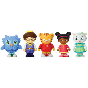 Daniel Tigers Neighborhood Friends Figures Set