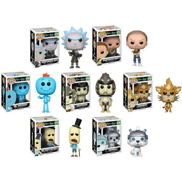 Funko Pop! Vinyl Figures - Rick and Morty