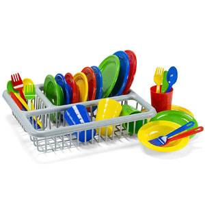 Kidzlane Durable Kids Play Dishes