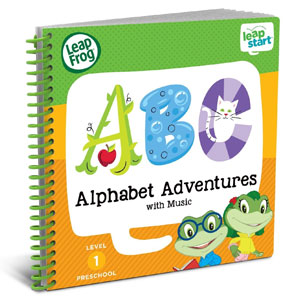 LeapFrog LeapStartActivity Book: Alphabet Adventures