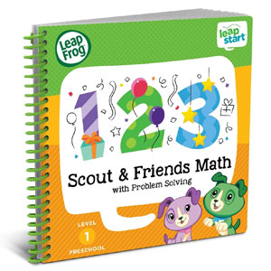 LeapFrog LeapStart Activity Book: Scout & Friend​s Math