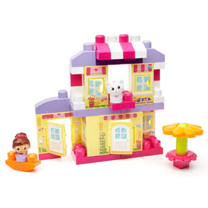 Mega Bloks First Builders Cozy Cottage Building Set