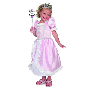 Melissa & Doug Princess Role Play Costume