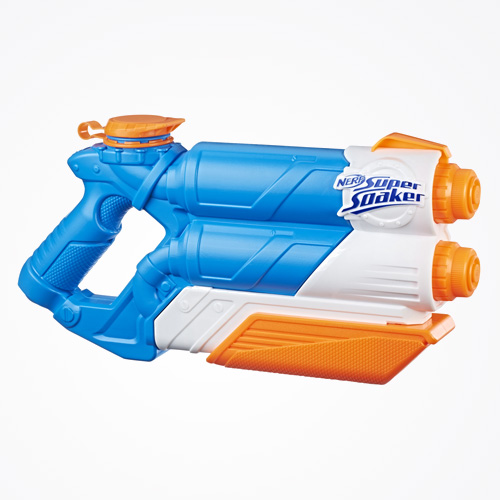 NERF SUPER SOAKER TWIN TIDE Water Blaster