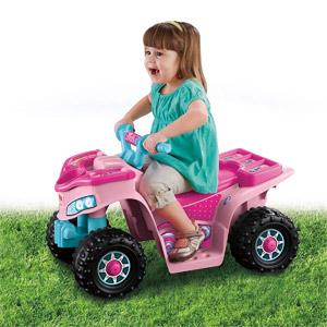 Power Wheels Barbie Lil Quad Vehicle