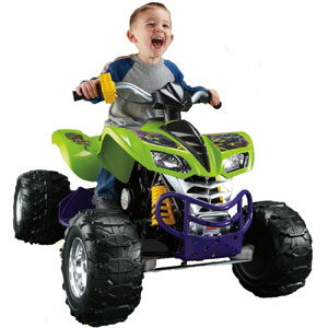 Power WheelsTeenage Mutant Ninja Turtles Kawasaki