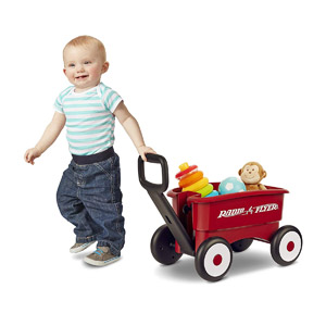 Radio Flyer 607X My 1st 2-in-1 Wagon