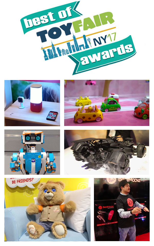 Toys For Awards : Best new toys of toy fair awards buzz