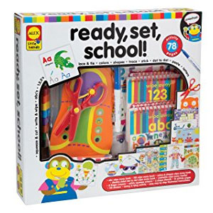 ALEX Toys Little Hands Ready, Set, School!