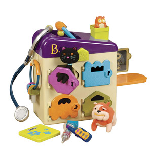B. Toys by Battat B. Pet Vet Toy Doctor Kit