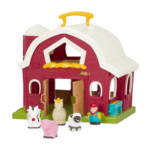Battat Big Red Barn Animal Farm Playset
