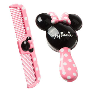 Disney Minnie Brush and Comb Set