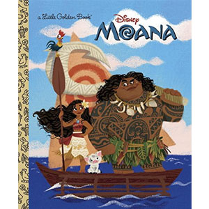 Disney Moana Little Golden Book
