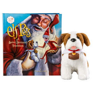Elf on the Shelf Elf Pets: A St. Bernard Tradition