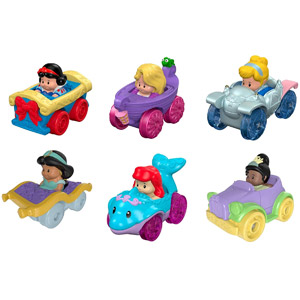 Fisher-Price Little People Disney Princess Wheelies Gift Set