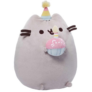 GUND Pusheen Happy Birthday Plush