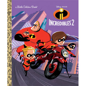 Incredibles 2 Little Golden Book