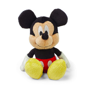 Kids Preferred Disney Baby Mickey Mouse Mini Jingler Plush Toy, 6.5""