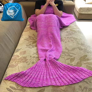 LAGHCAT Mermaid Tail Blanket