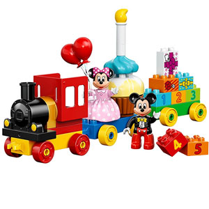 LEGO DUPLO Mouse Mickey and Minnie Birthday Parade