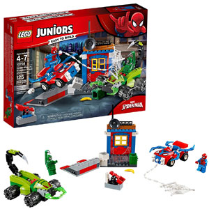 LEGO Juniors Marvel Spider-Man Street Showdown